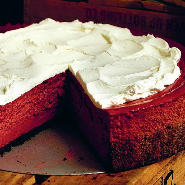 Red Velvet Cheesecake The Happy Foodie