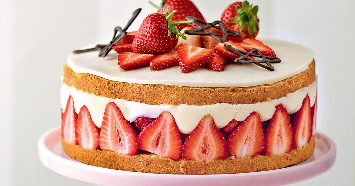 Quick Strawberry Shortcake Dessert