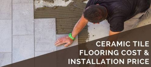 Ceramic Tile Cost   Installation Pricing   2018 Cost Guide ceramic tile flooring cost and installation price