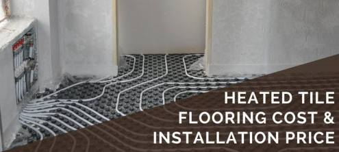 Heated Tile Flooring Cost   Installation Pricing   2018 Cost Guide Heated Tile Flooring Cost   Installation Prices