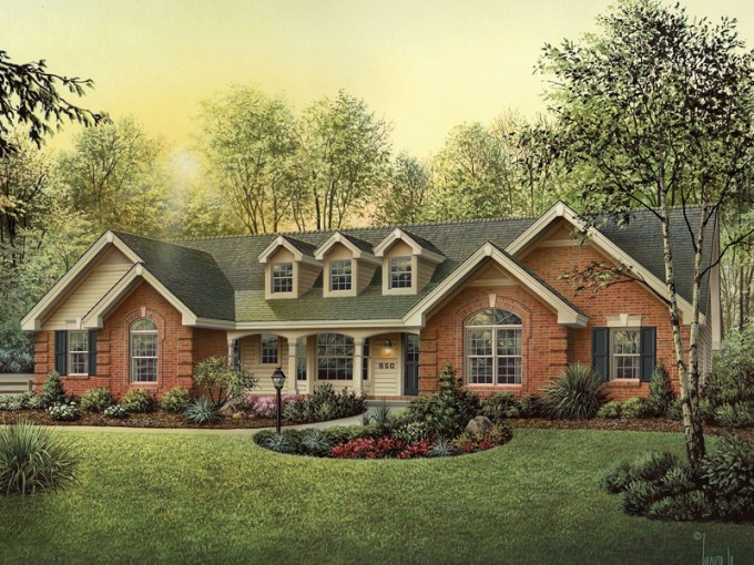 Oakbury Ranch Home Plan 007D 0146   House Plans and More Oakbury Ranch Home