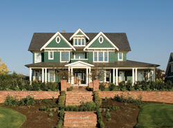 Home Plans with Guest Houses   House Plans and More craftsman style home with attached guest house  ViewthisPlan