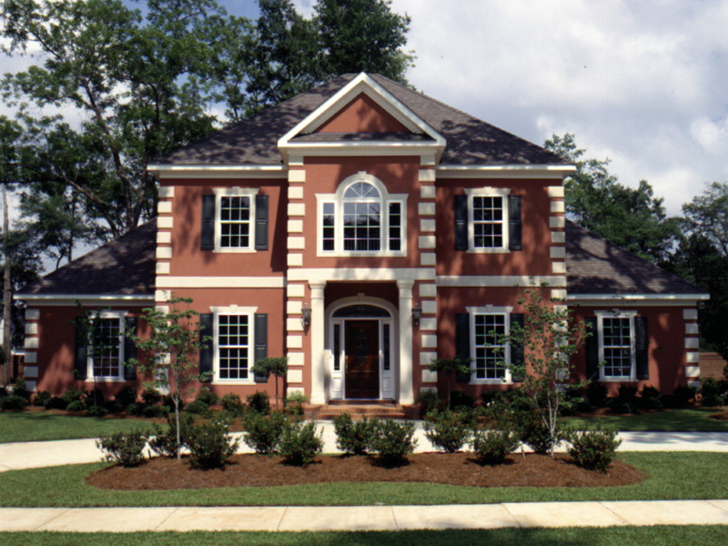 Whitemire Luxury Colonial Home Plan 024D 0058   House Plans and More Whitemire Luxury Colonial Home