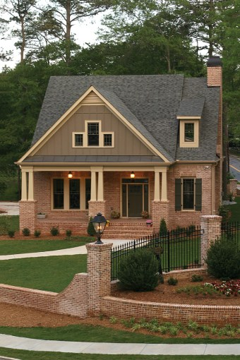 Green Trace Craftsman Home Plan 052D 0121   House Plans and More Green Trace Craftsman Home