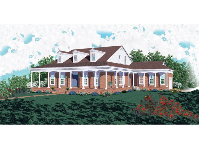 Kent Manor Colonial Farmhouse Plan 087D 0569   House Plans and More Kent Manor Colonial Farmhouse