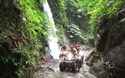 Bali ATV Ride through Cave, Waterfall, and River 40% OFF