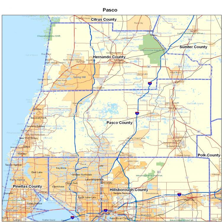 Evacuation Map Hurricane Florida