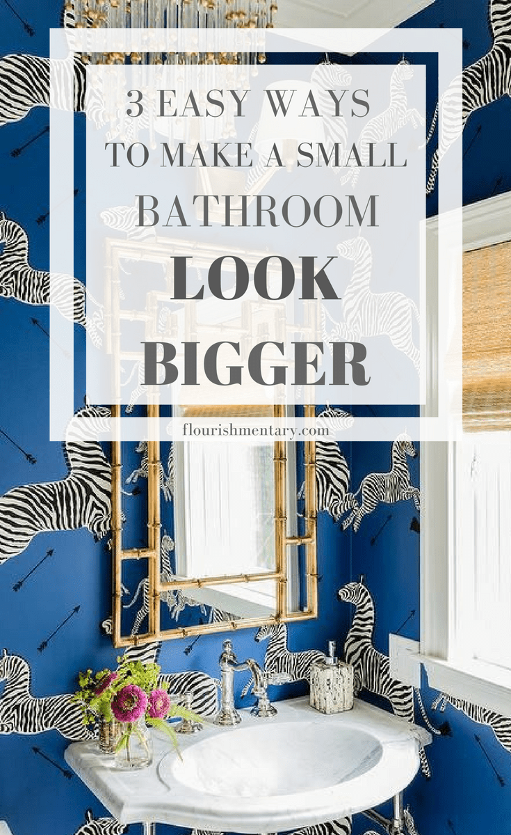 Ideas Decorate Small Bathrooms