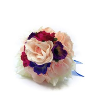 Bella Artificial Bridesmaid Bouquet