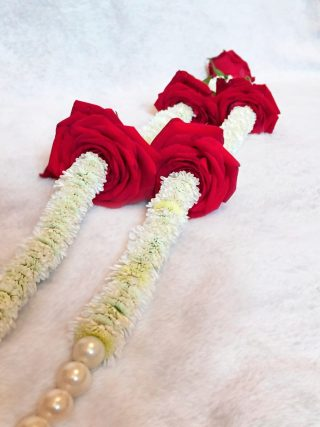 Rose Wedding Garland - Slim