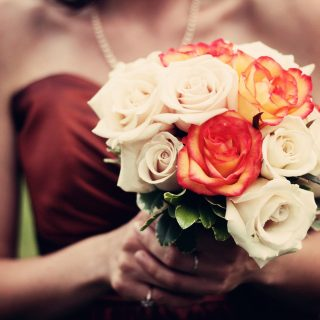 Artificial Bridesmaid Bouquets