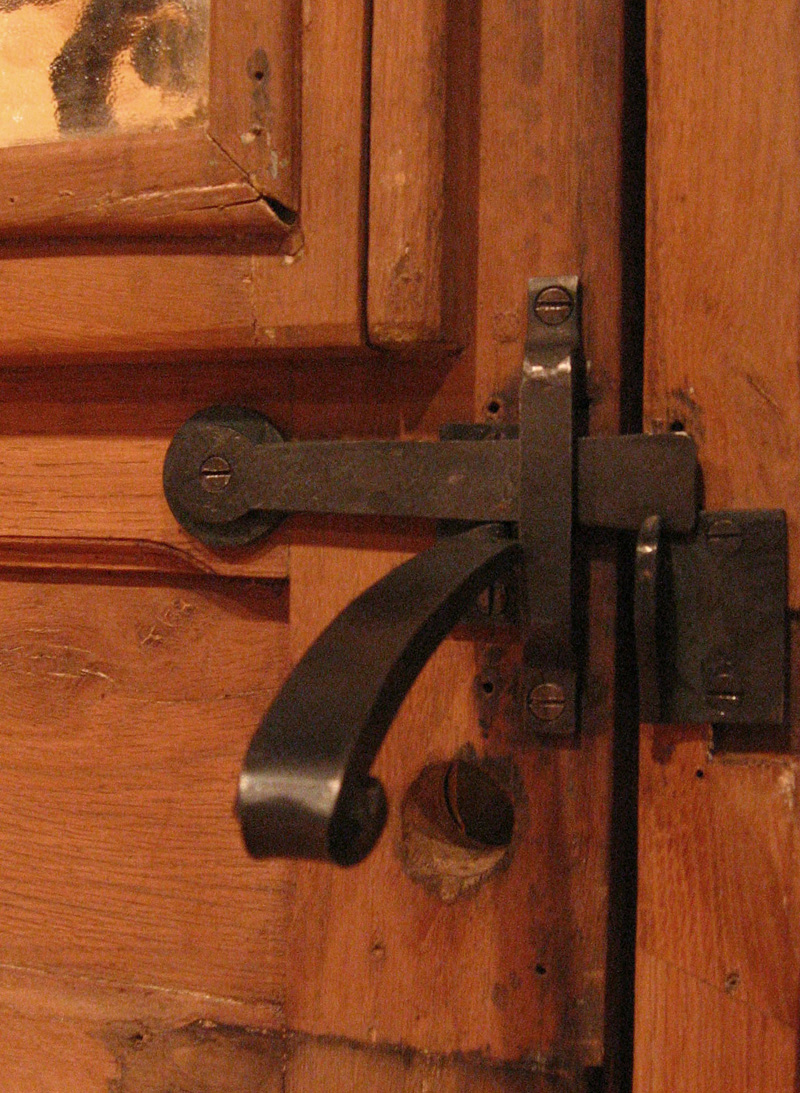 Wine Cellar Door Hardware
