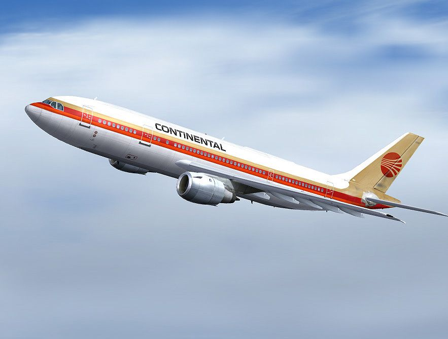 Continental Airlines A300B4-203 for FS2004