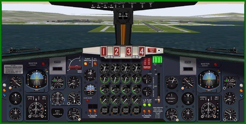 Saa Boeing 707 420 For Fsx