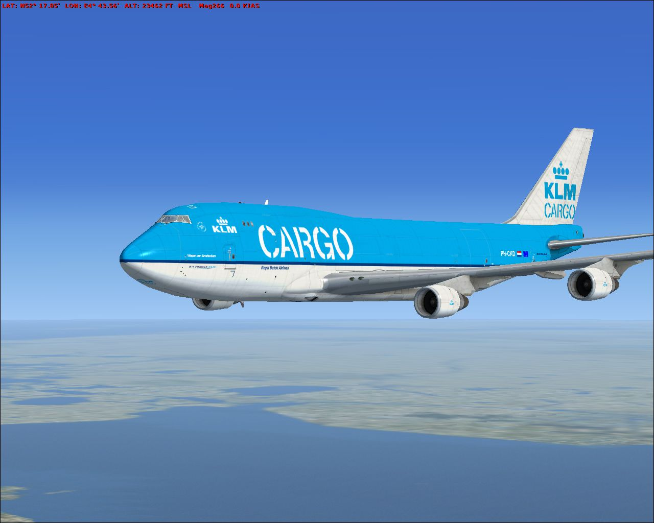 Klm Boeing 747 400 Repaint For Fsx