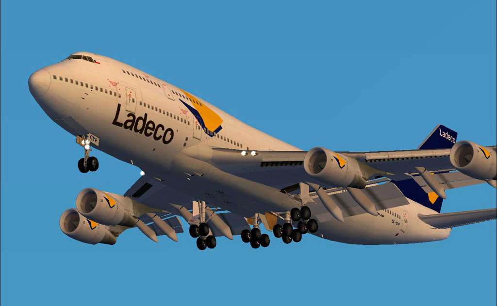 Ladeco Boeing 747 400 For Fs2004