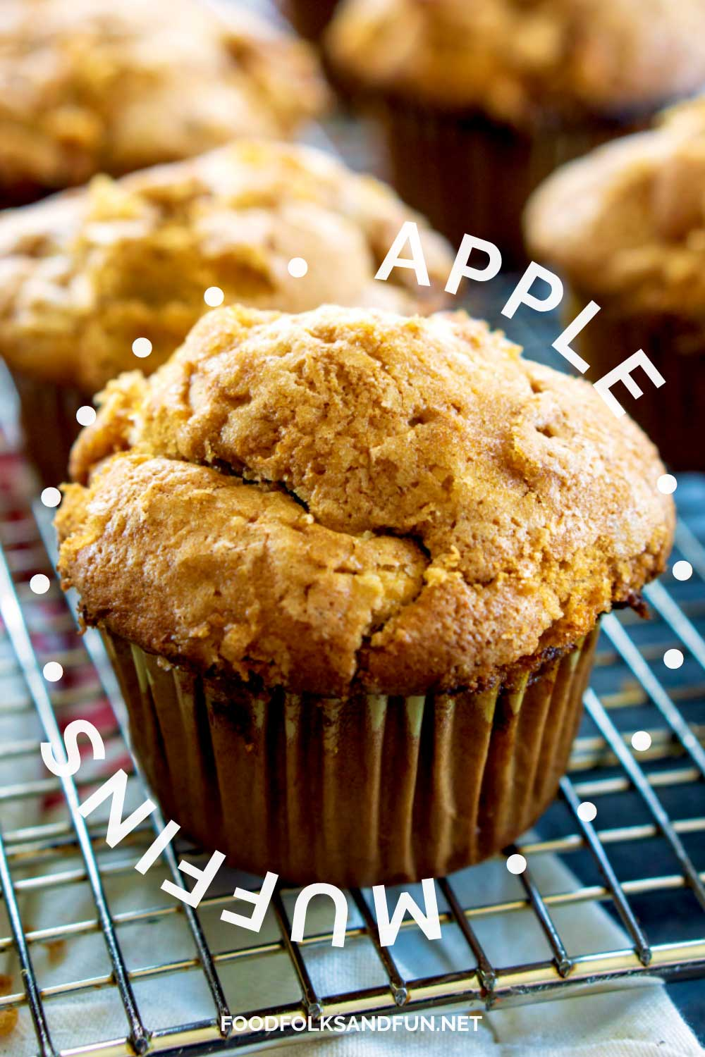 I'm not going to lie, cakey muffins are not my favorite. These Apple Muffins, however, are ALLLLL muffin, just how I like 'em!