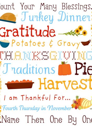 free printable for Thanksgiving subway art