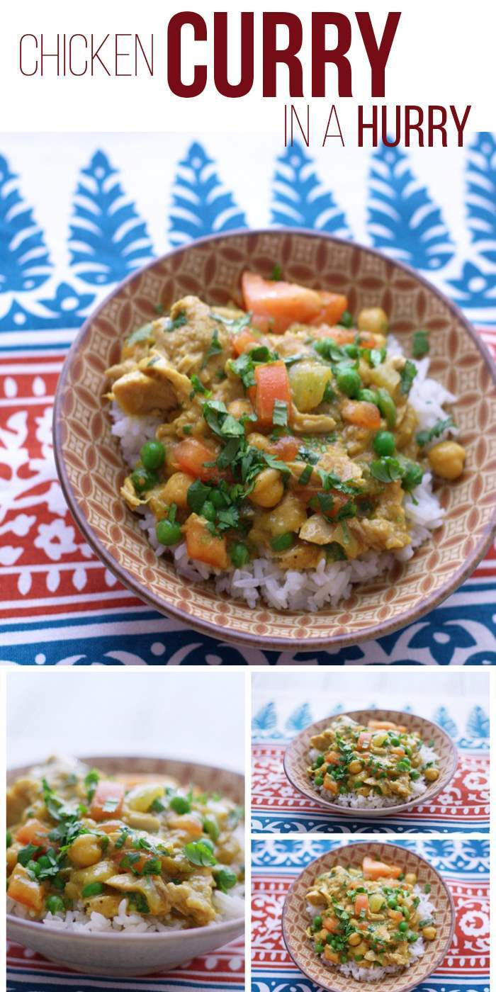 Your favorite chicken curry recipe just got a whole lot easier with this easy slow cooker recipe! This dinner is easy to prepare and leftovers taste even better the next day!  via @foodfolksandfun