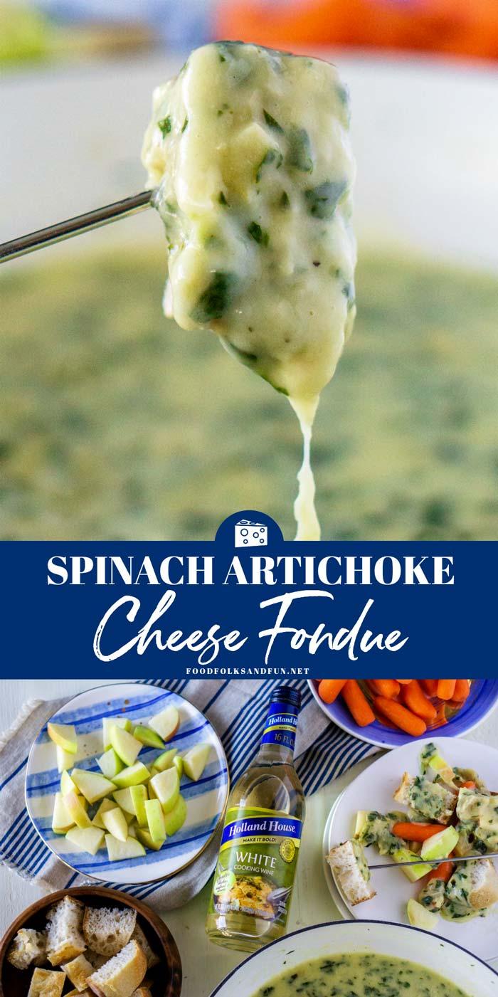 Spinach Cheese Fondue