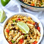 Southwest Pasta Salad with Cilantro-Lime Dressing for hot summer nights