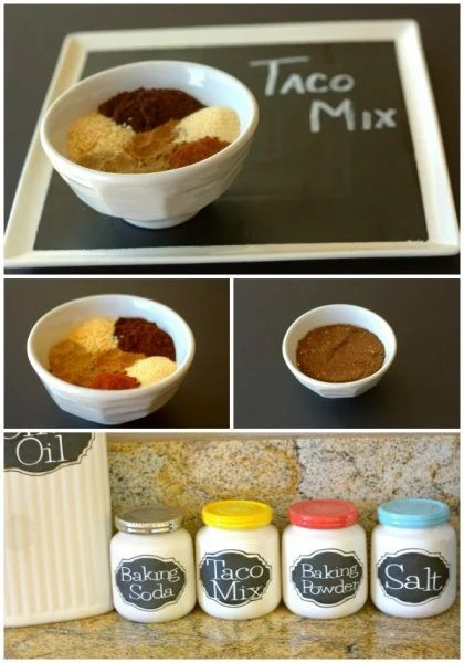 This homemade Taco Mix recipe is an economical version of the pantry staple. It's so easy to make and tastes better than store-bought mixes.
