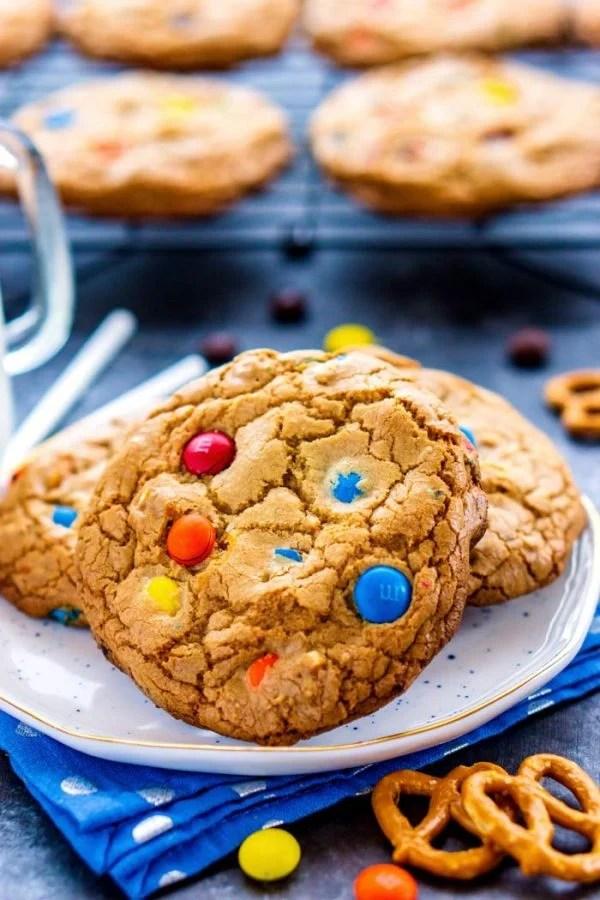Close up picture of Pretzel Cookie.