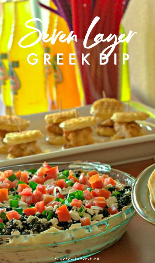 Greek Dip for Game Day