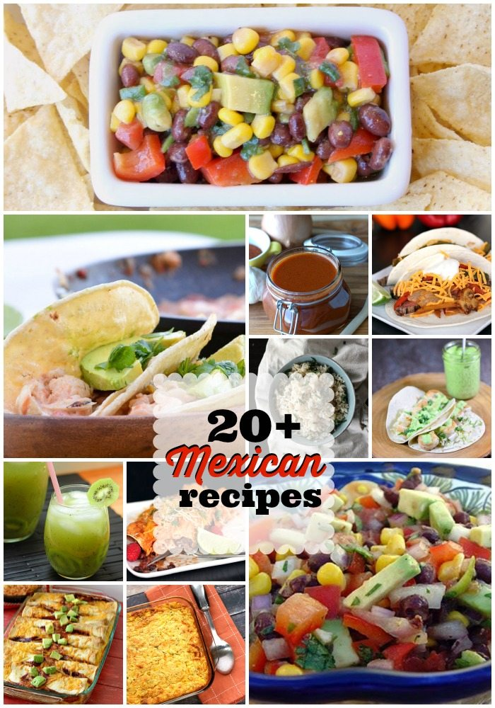 mexican recipes round up