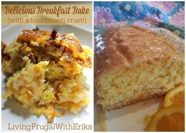A collage of delicious breakfast recipe ideas with text overlay for Pinterest