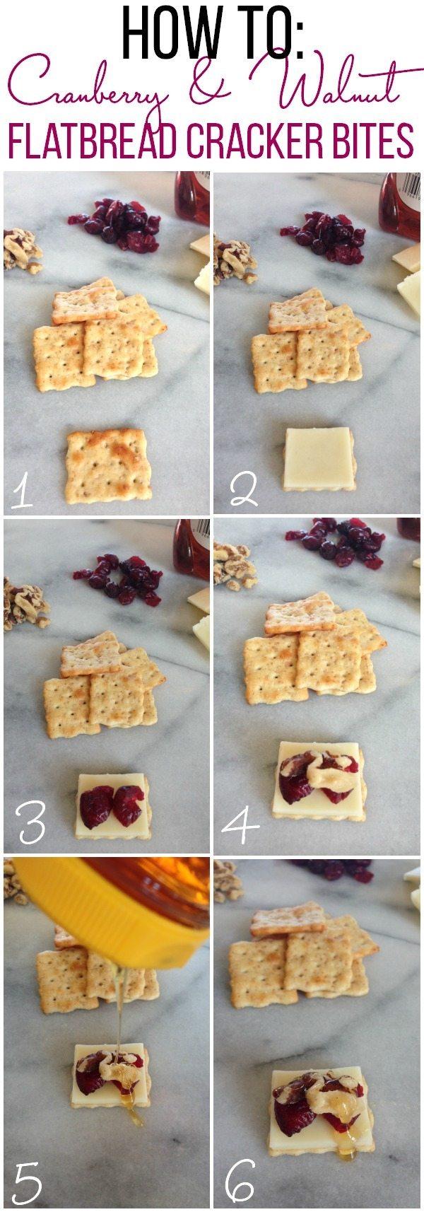 How to make Flatbread Cracker Bites