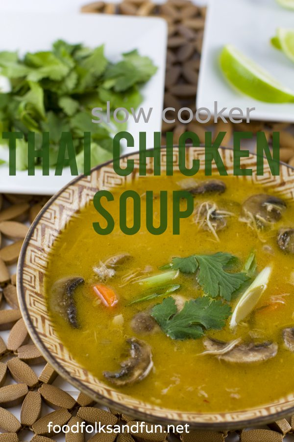 Slow Cooker Thai Chicken Soup 1