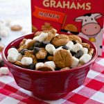S'mores Snack Mix in a bowl