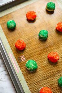 Step 4 - Gummy Bear Thumbprint Cookies