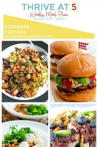Summer Meal Plan for August!