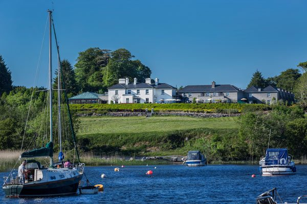 The Lodge at Ashford Castle from Water