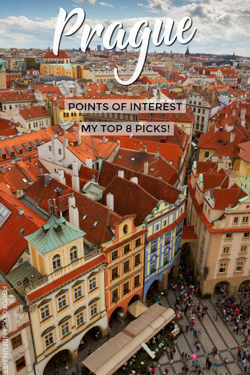 Prague Points of Interest