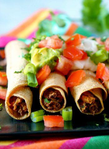 Easy Taquitos recipe.