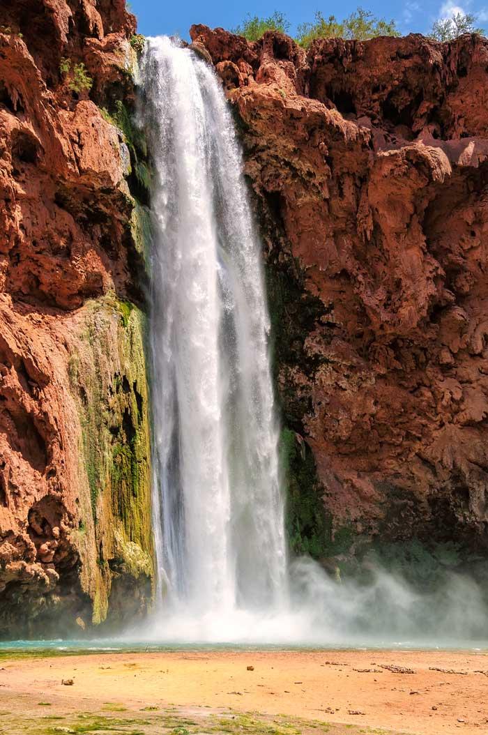 Havasupai Falls waterfall
