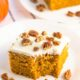 Delicious and super easy Pumpkin Cake recipe.