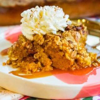 Step 5 - Pumpkin Dump Cake