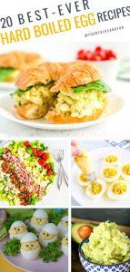20 Hard Boiled Egg recipes