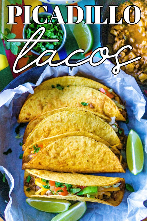 ThisPicadillo Tacos recipe (Tacos de Picadillo) makes crispy ground beef and potato tacos that are so easy to make. This recipe serves 10 and costs $11.14 to make. That's just $1.11 per serving! via @foodfolksandfun