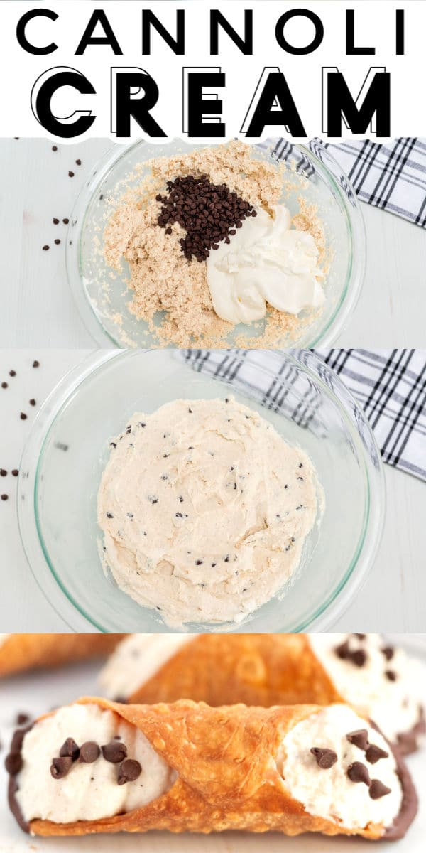 Fresh, homemade cannoli cream is easier than you think to make. You'll be filling cannoli shells in no time with my How to Make Cannoli Cream tutorial! This popular Italian recipe has been shared over 124,000 times on social media! via @foodfolksandfun