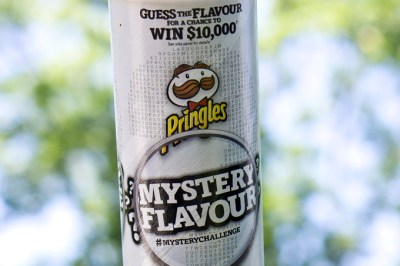 Guess the Mystery Flavour in the Pringles #MysteryChallenge