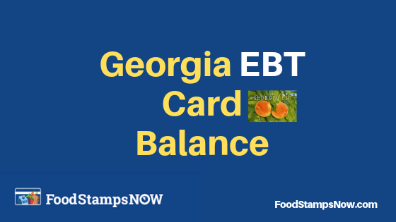 How Apply Ebt Card