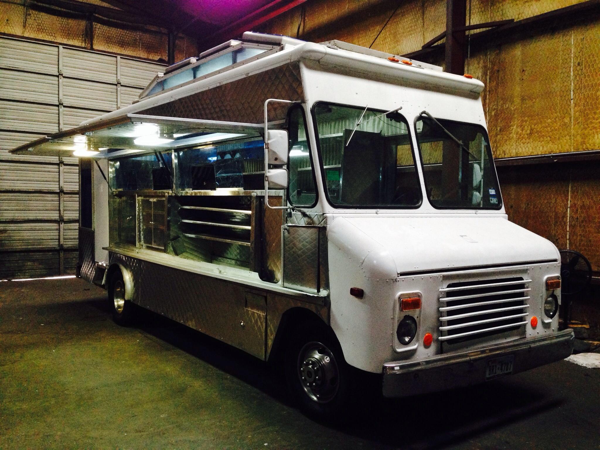 Stainless Steel Food Truck Serving Window Ledge