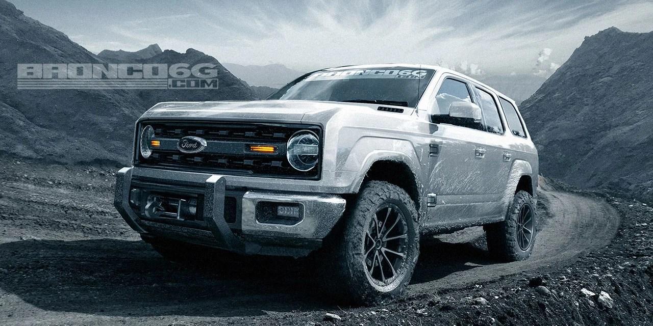 Bronco 4 Door 2017 Ford