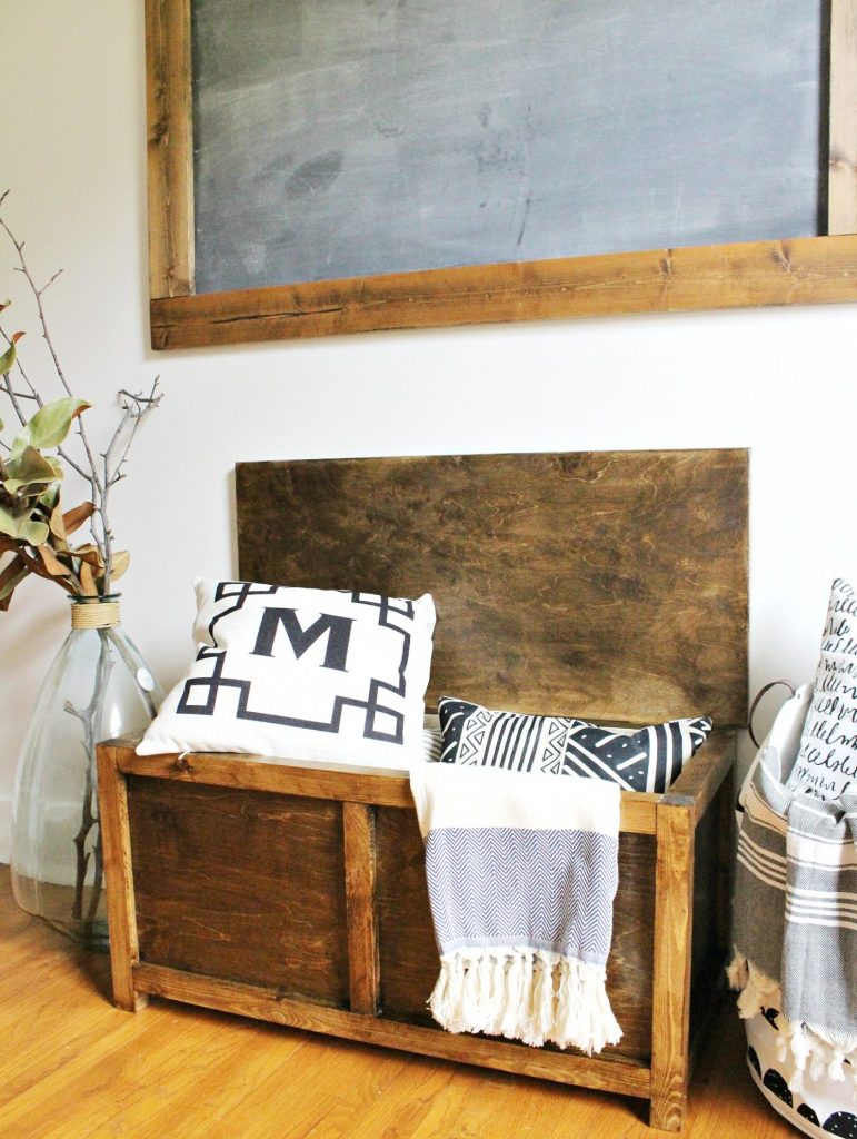 12 Diy Rustic Storage Projects To Organize Your Home