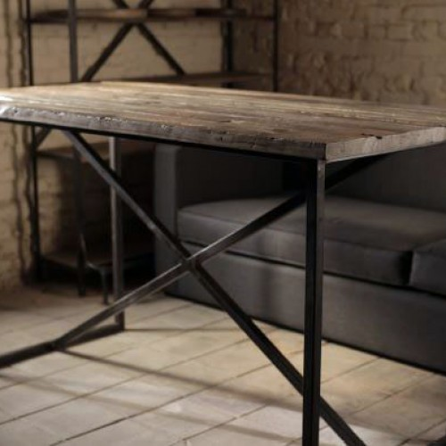 Rustic Console Table Side